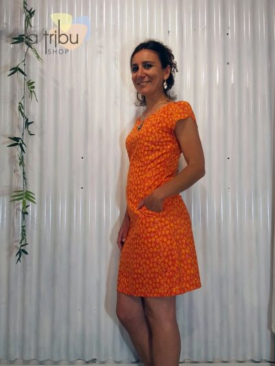 Super robe orange BlaBla (2)