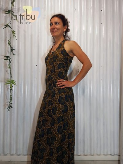 Robe longue florale bohème Bla-Bla (5)