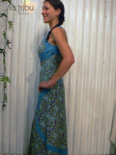 Robe longue colorée sexy, Kali-Yog, www.LaTribu.shop (2)