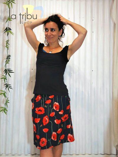 Jupe rouge BlaBla, Coco, www.LaTribu.shop (5)