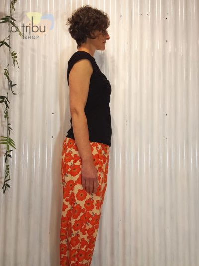 Pantalon bohème fleuri Kali-Yog (2)