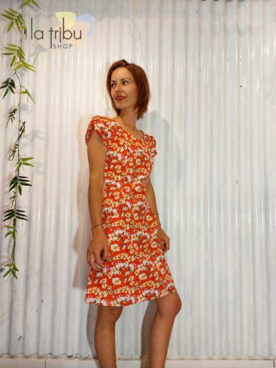 Robe colorée fleurie BlaBla (2)
