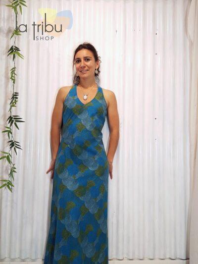 Robe KaliYog Penelope, Dot ball blue, www.LaTribu.shop (1)