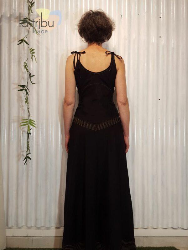 Robe longue élégante bohème Kali-Yog (3)