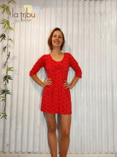 Robe tunique BlaBla Ino, Red, www.LaTribu.shop (1)