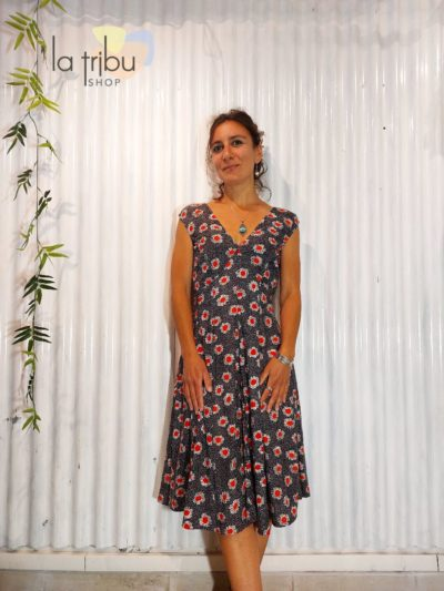 Robe KaliYog Guli, Bindi red, www.LaTribu.shop (1)