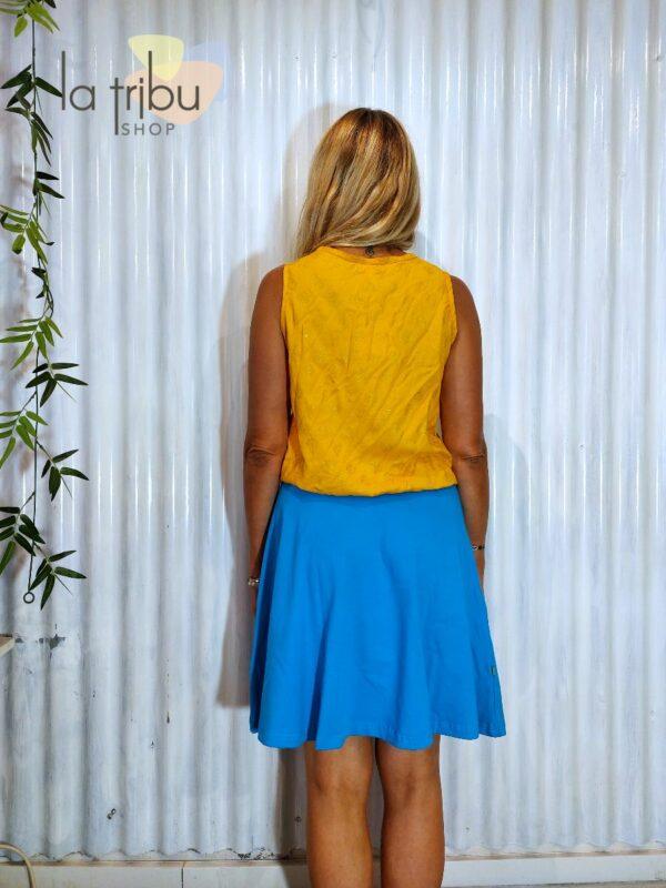 Jupe bleue marque BlaBla (3)