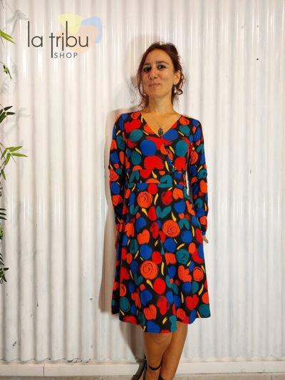 Robe Princesse Nomade Frida 03, Black, www.LaTribu.shop (1)